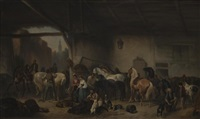the horse fair by wouter verschuur the elder