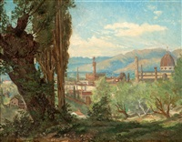 utsikt över florens by joseph magnus stack