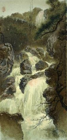 waterfall by lee man fong