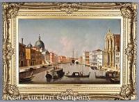 capriccio of venice from the bacino di san marco by bernardo bellotto