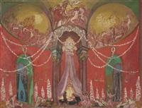 le palais de la reine de volupte by maurice denis