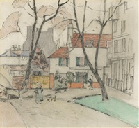 The Top of Hampstead, 1924