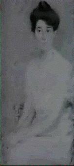 portrait of miss wicks by maria judson strean
