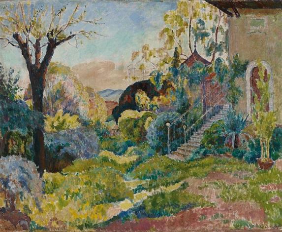 Garten Provence garten in der provence by walter bondy on artnet