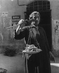 bonen verkoopster by emmy andriesse
