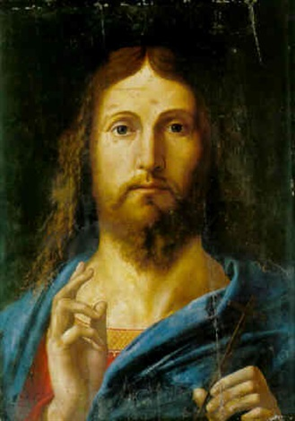 salvator mundi by alvise vivarini