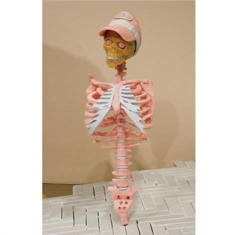 untitled skeleton by folkert de jong