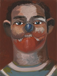 the athlete by george condo