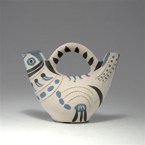 pichet oiseau by pablo picasso