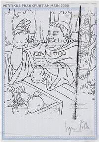 genussschein (sonderausgabe für portikus, frankfurt am main) (dbl-sided) by sigmar polke