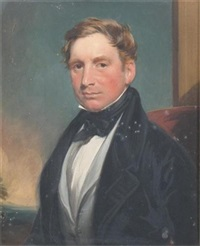 portrait of rev. richard h. mostyn pryce by james godsell middleton