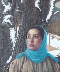 青春纪事之十六-被遗忘的雪 by liu kongxi