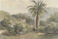 vue de la gabia, à rio de janeiro, brésil (+ 18 others; 19 works) by barthélemy lauvergne