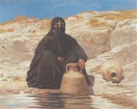 araberin am brunnen by voitler billney