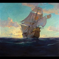spanish galleon by john p. benson