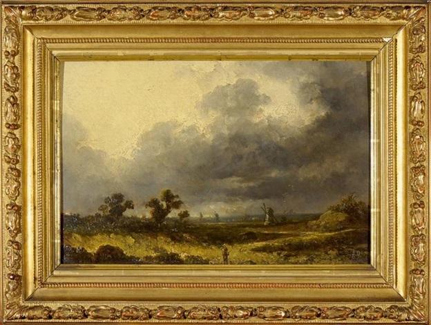 la vallée du hasli au pied du grimsel by alexandre calame