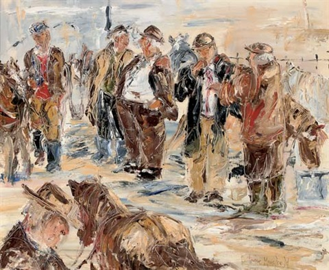 the horse market by louise mansfield