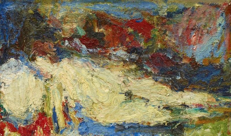 nu allongé variation zu giorgiones venus galerie alte meister dresden by eugène leroy