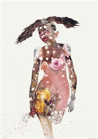 all rosey by wangechi mutu