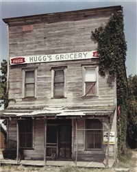 huggs grocery, ulm (+ post office, columbus, arkansas; 2 works) by geoff winningham