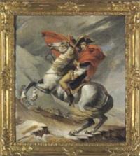 napoleon am st. bernard by erni von hüttenbrenner