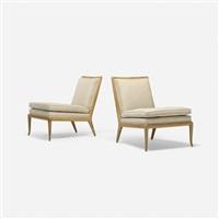 lounge chairs, pair by t.h. robsjohn-gibbings