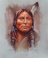 gall, sioux warchief by vilem zach