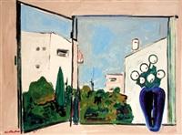 the blue vase by hayim rosenthal