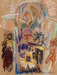maria plain - kircheninneres by rudolf kortokraks
