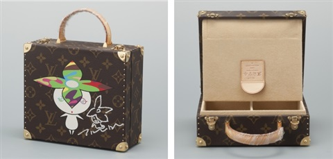 The Limited Edition Louis Vuitton Monogram Jewellery Box by Takashi