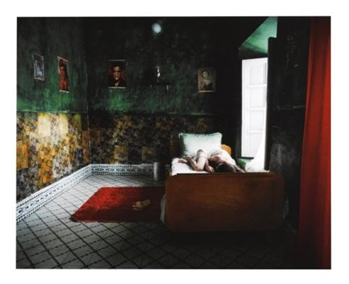 zarin in bedroom by shirin neshat