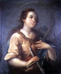 saint catherine of alexandria by juan de correa da vivar