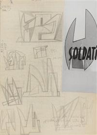 studi (study) by atanasio soldati