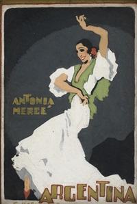 antonia mercé, la argentina by gustavo bacarisas