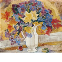autumn still life by marguerite thompson zorach