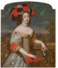 portrait d'anne-marie-louise d'orléans, dite la grande mademoiselle by louis ferdinand elle the elder