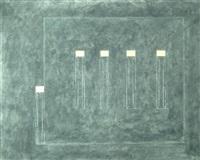 vier innen - einer draussen by jean zuber