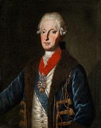 portrait des bayerischen kurfürsten maximilian iii. joseph by joseph fischer
