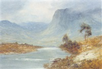 highland landscape by h. east