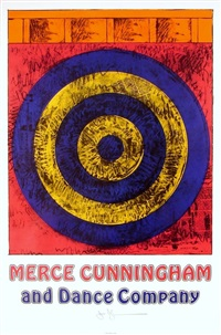 target for merce cunningham by jasper johns