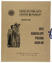 mexican fine arts center museum (portfolio of 15) by josé guadalupe posada