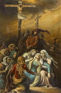 la crucifixion by émile bernard