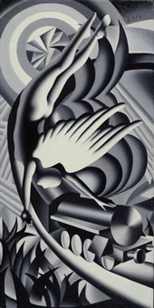havenly motive by mark kostabi