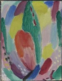 variation: frühling (variation: spring) by alexej jawlensky