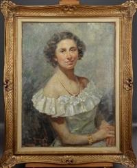 portrait de dame by ovidio gragnoli