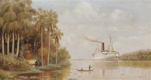 the steamship hildebrand on the thousand mile passage up the amazon to manaus by dwe gutman