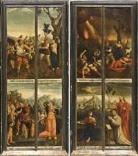 storie di san'emerenziana martire con ritratto del donatore by flemish school-brussels (16)