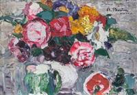 composizione floreale by agostino bosia