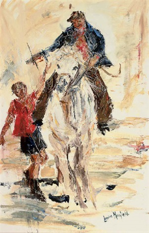 leading the horse by louise mansfield