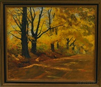 autumn in connecticut by herbert e. abrams